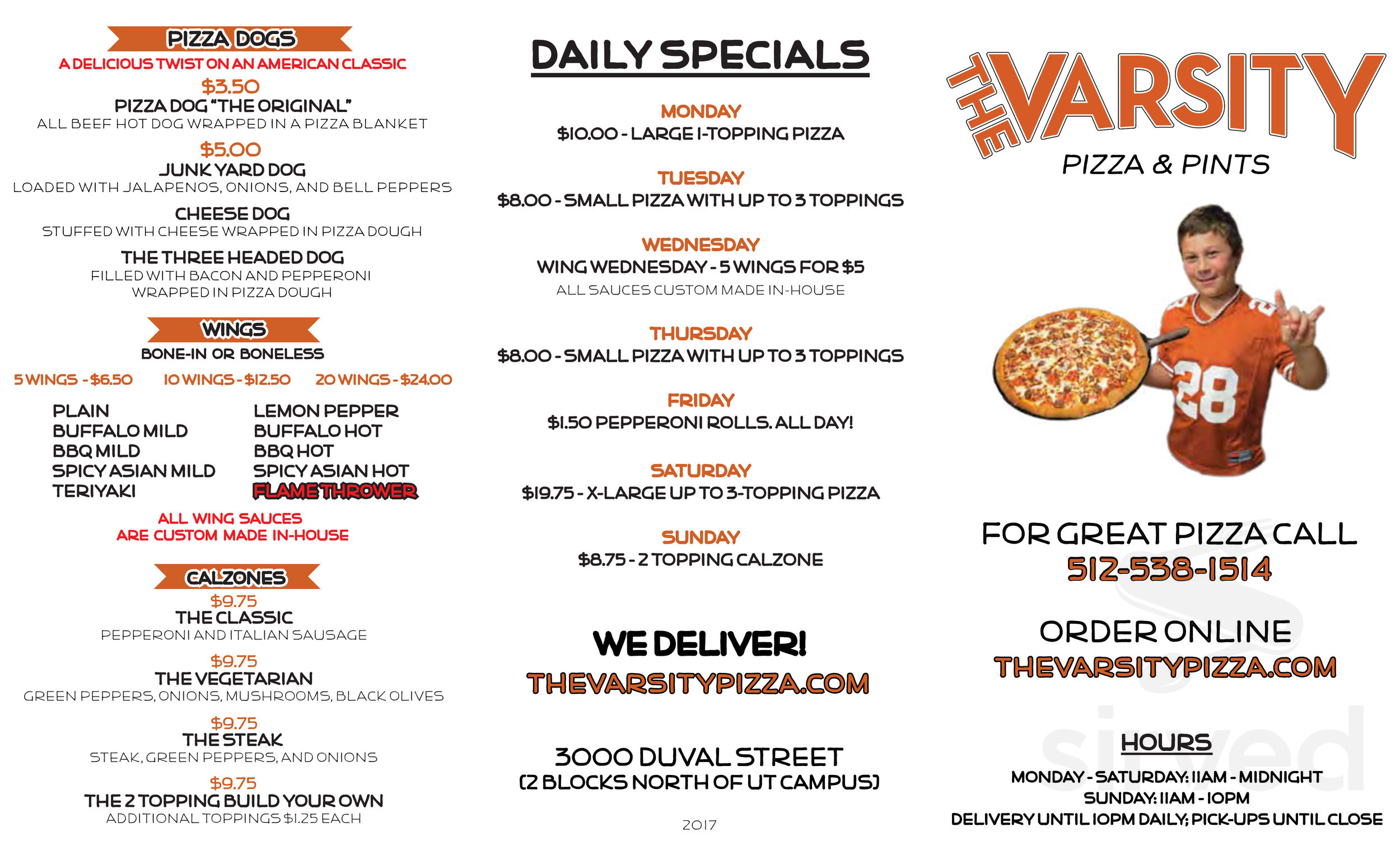 Varsity Pizza Austin - Austin Show