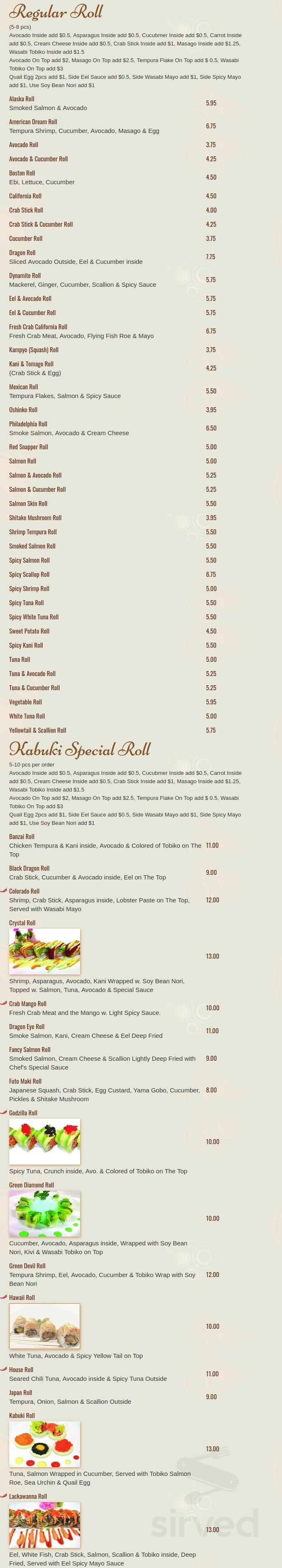 kabuki peckville coupons