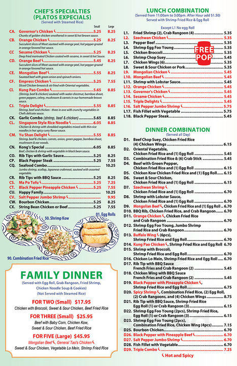 Tremendous Menu For See Thru Chinese Kitchen In Broadview Illinois Beutiful Home Inspiration Cosmmahrainfo