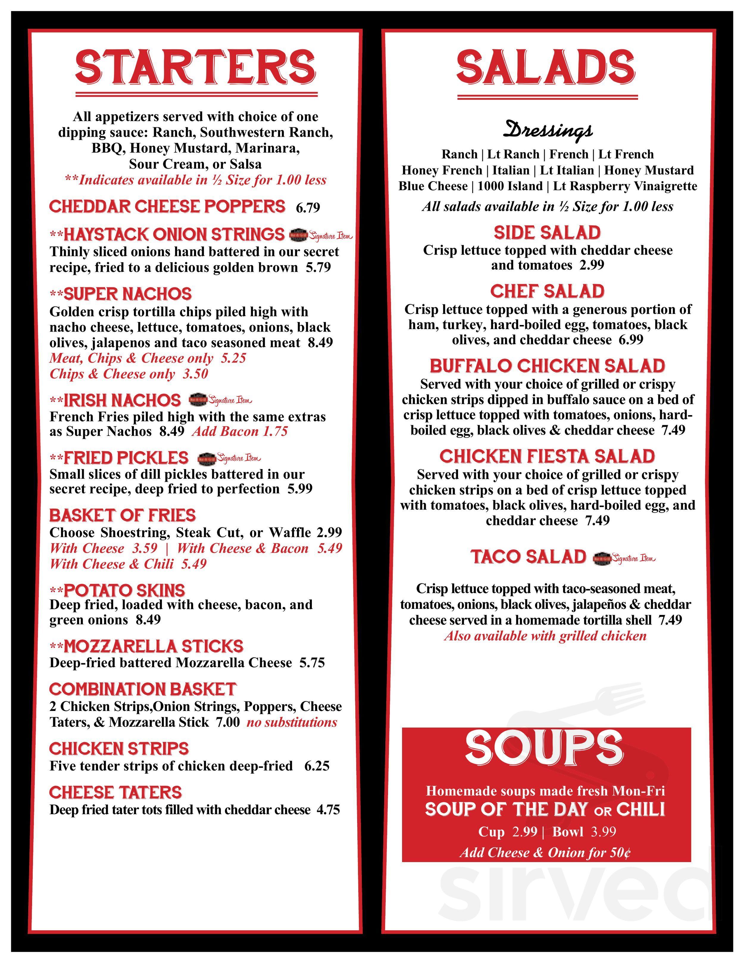 last chance bar grill menu in peoria illinois usa last chance bar grill menu in peoria