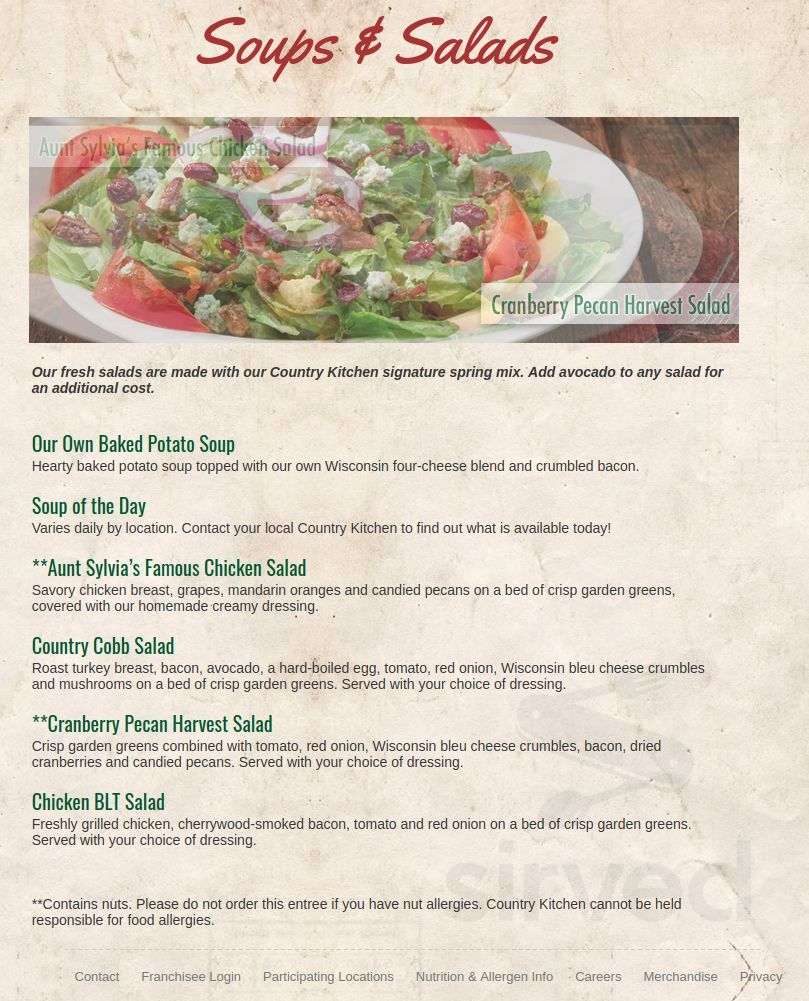 Country Kitchen Patchogue Menu In Patchogue New York