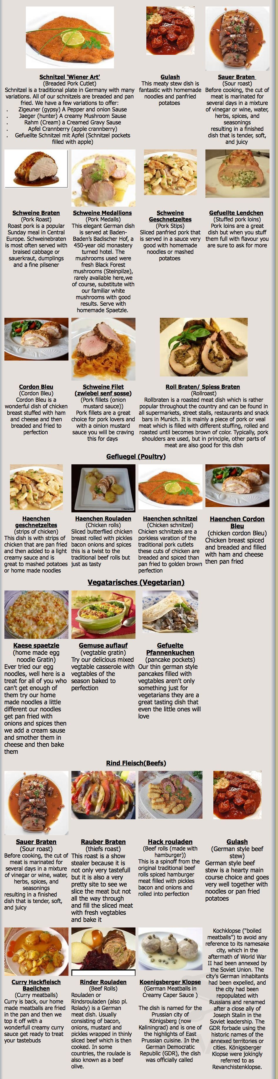 Menu for omas kitchen main menu page 1 of 2
