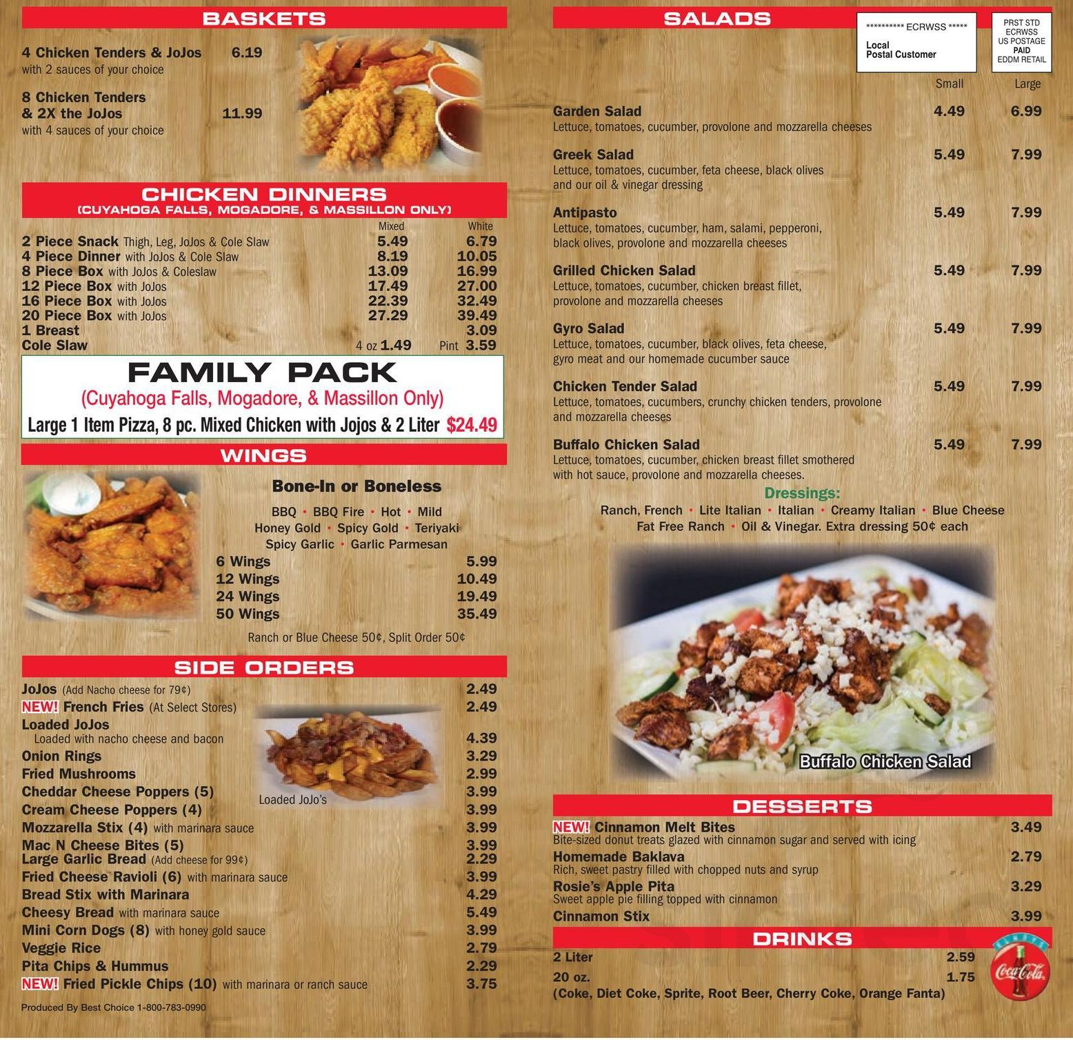 Euro Gyro Green Menu – Restaurant menu, map for gyro plus located in 32601, gainesville fl, 1011 w university ave.