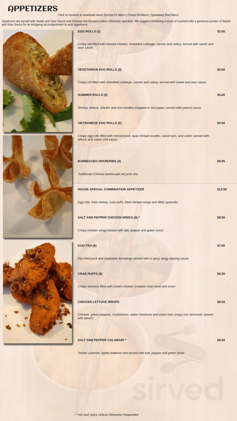 Golden dragon restaurant tucson menu british dragon pharmaceuticals andropen 275mg