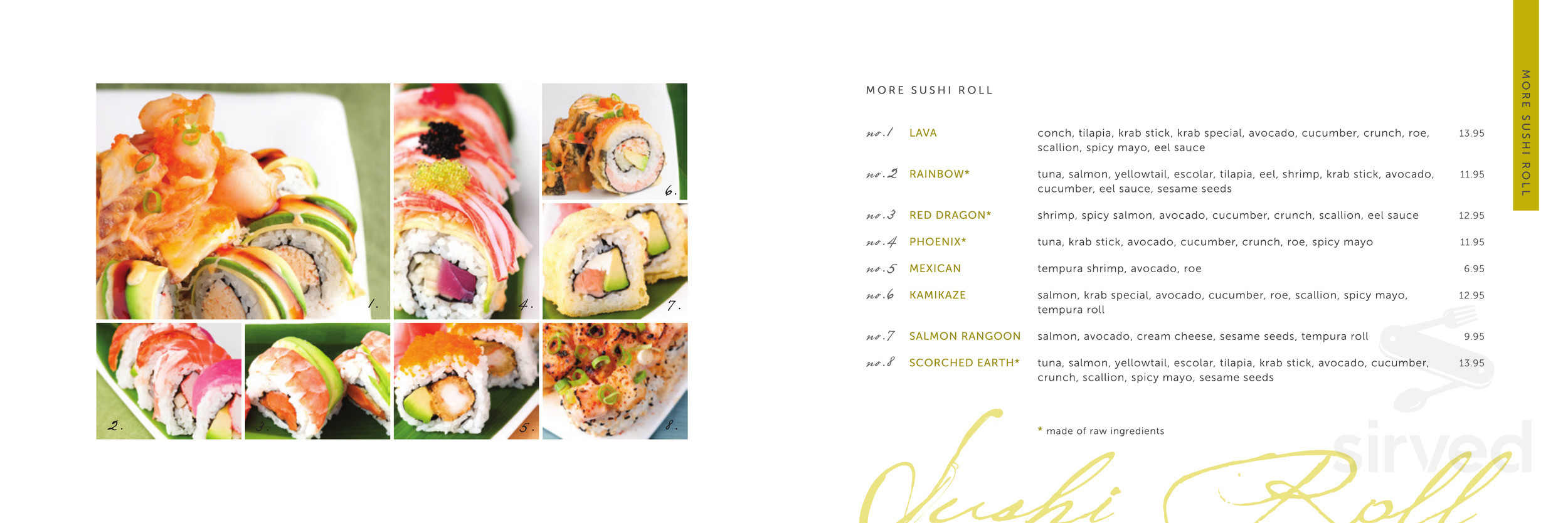 ORIGAMI REDIRECT — KELP SUSHI JOINT | 834x2500