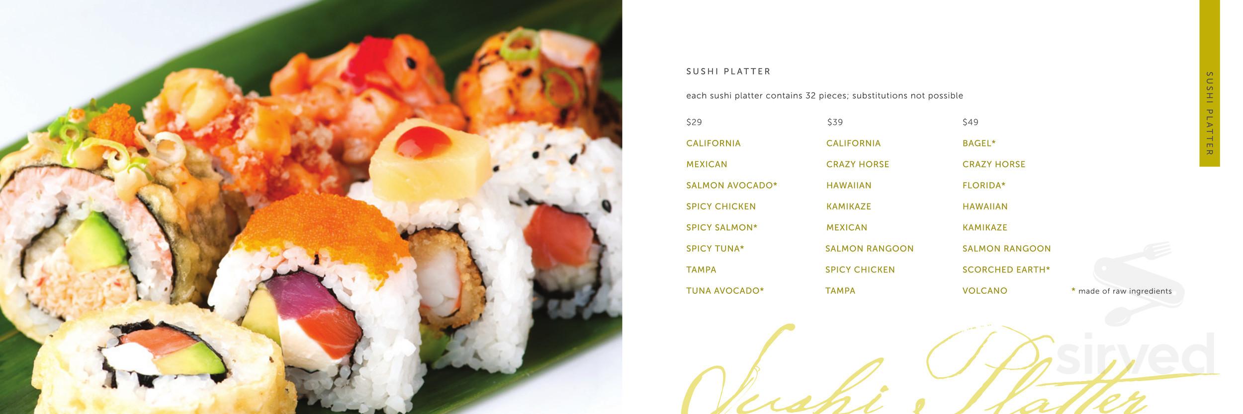 Origami Sushi - Tampa Florida Restaurant - HappyCow | 834x2500