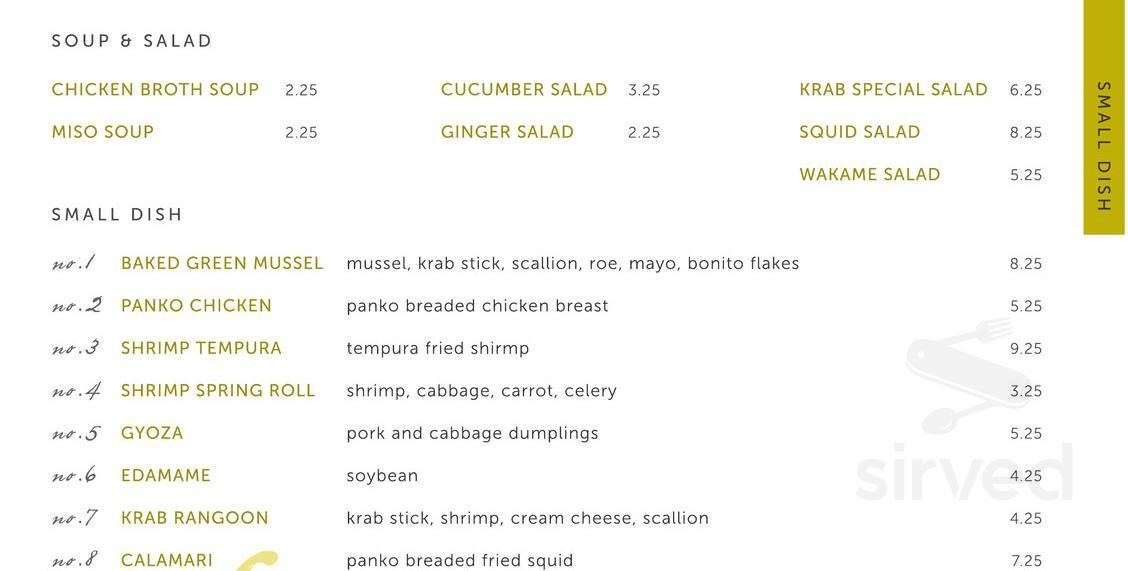 Origami Sushi - Restaurant | 6507 W Waters Ave, Tampa, FL 33634, USA | 571x1128