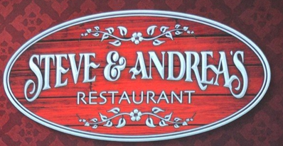 Steve & Andrea's menu in Rutherford, New Jersey, USA