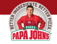 Papa John S Pizza Menu In Weatherford Texas Usa