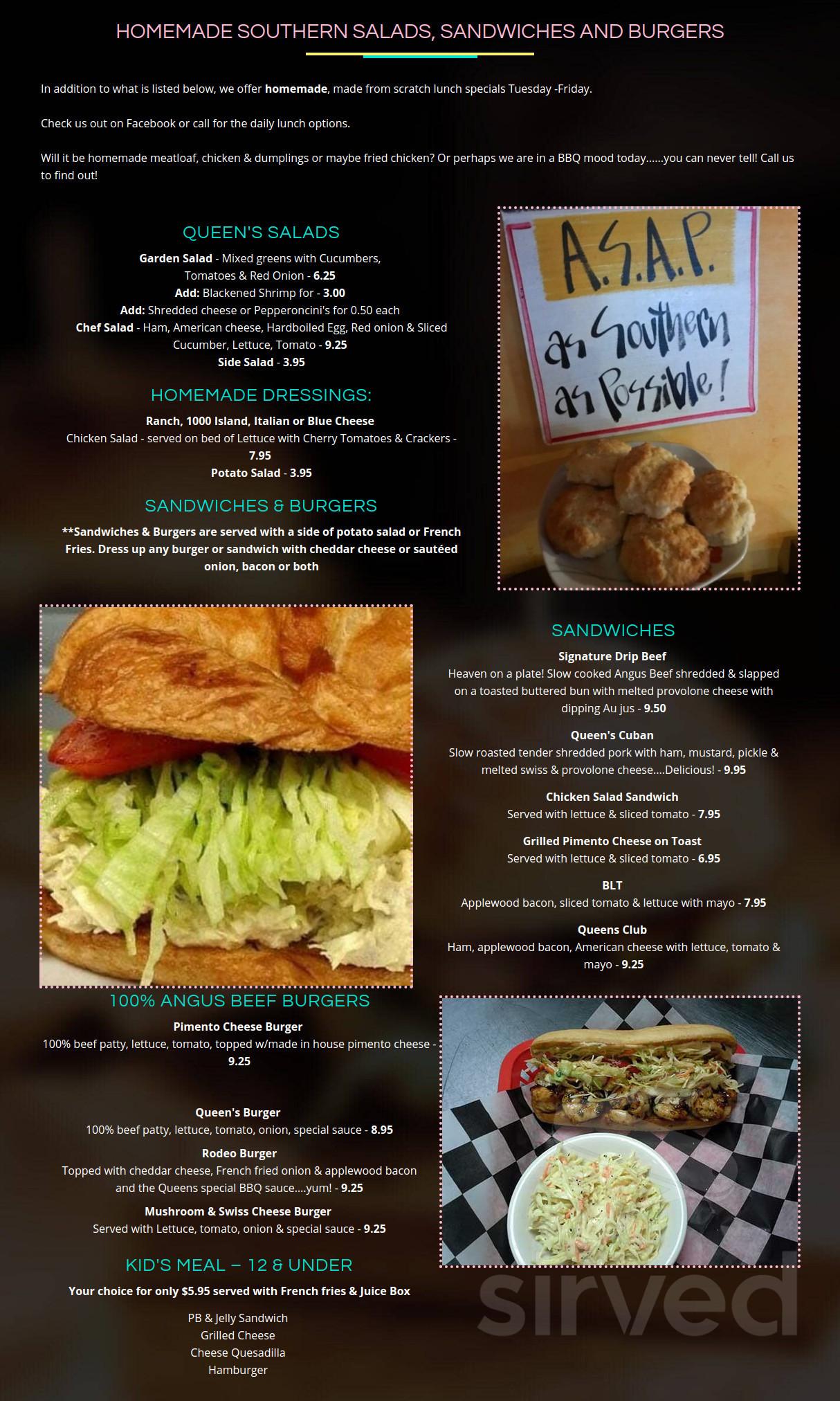 Country Queen Cafe Llc Menu In Fairhope Alabama Usa
