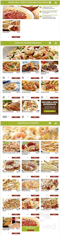 Olive Garden Italian Restaurant Menu In Augusta Maine