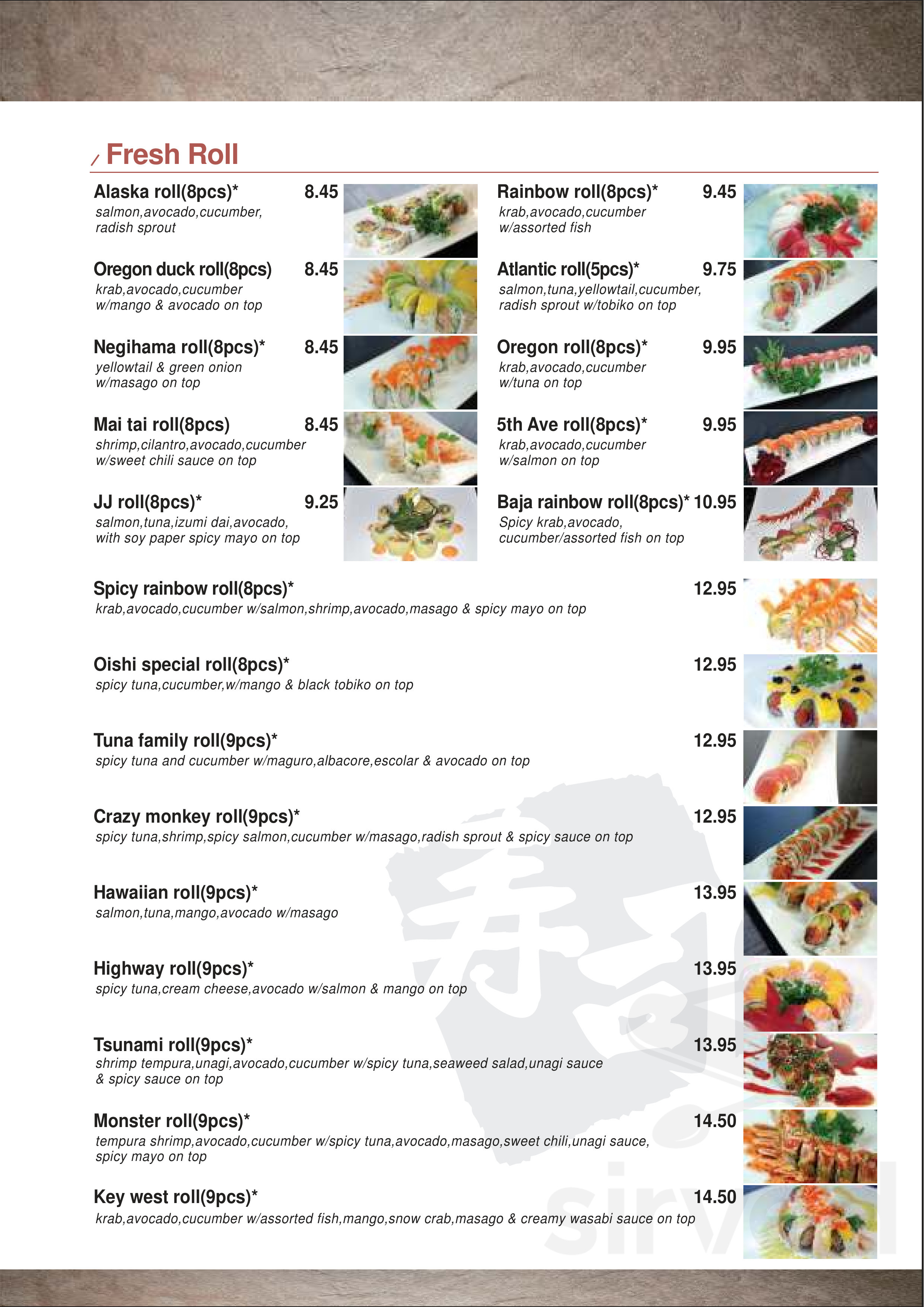 Sushi Station Japanese Restaurant Menu In Eugene Oregon The fish is fresh, the service is amiable and the prices are more than fare. sushi station japanese restaurant menu