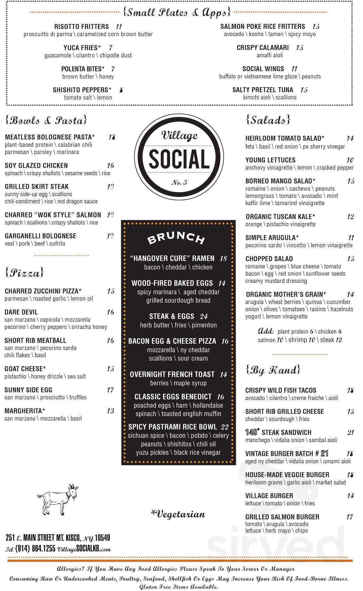 Village Social Kitchen Bar Reviews In Rye New York