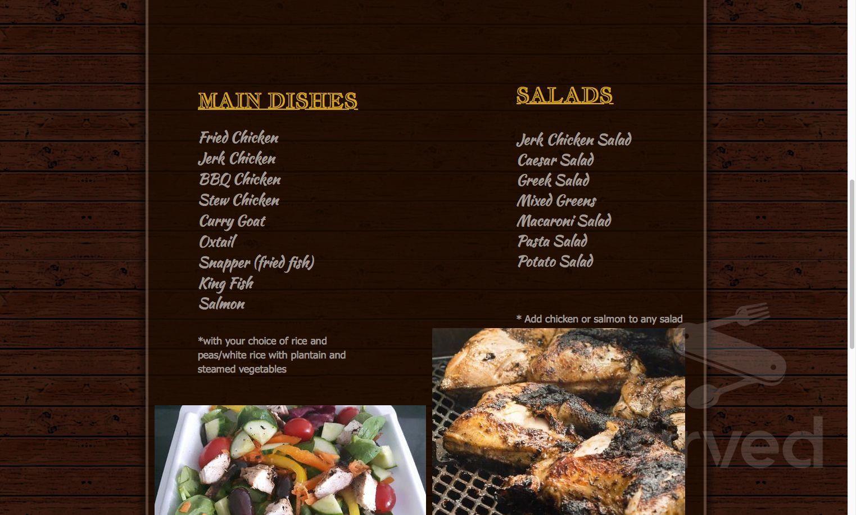 Menu for roses halal kitchen main menu page 1 of 2