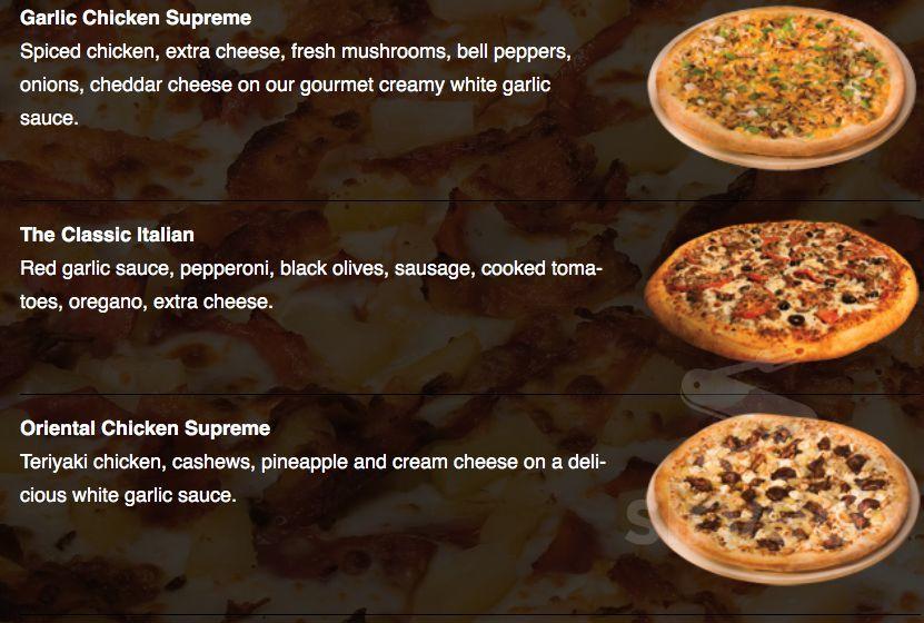 Pizza Pipeline menu in Spokane Valley, Washington, USA