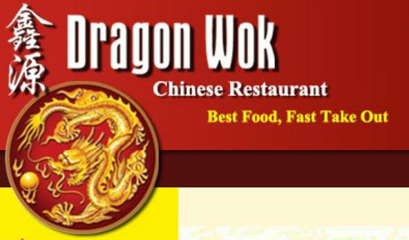 Dragon Wok Menu In Barrie Ontario Canada