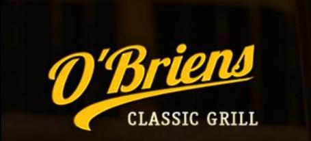 O'Briens Classic Grill menu in Kapuskasing, Ontario, Canada