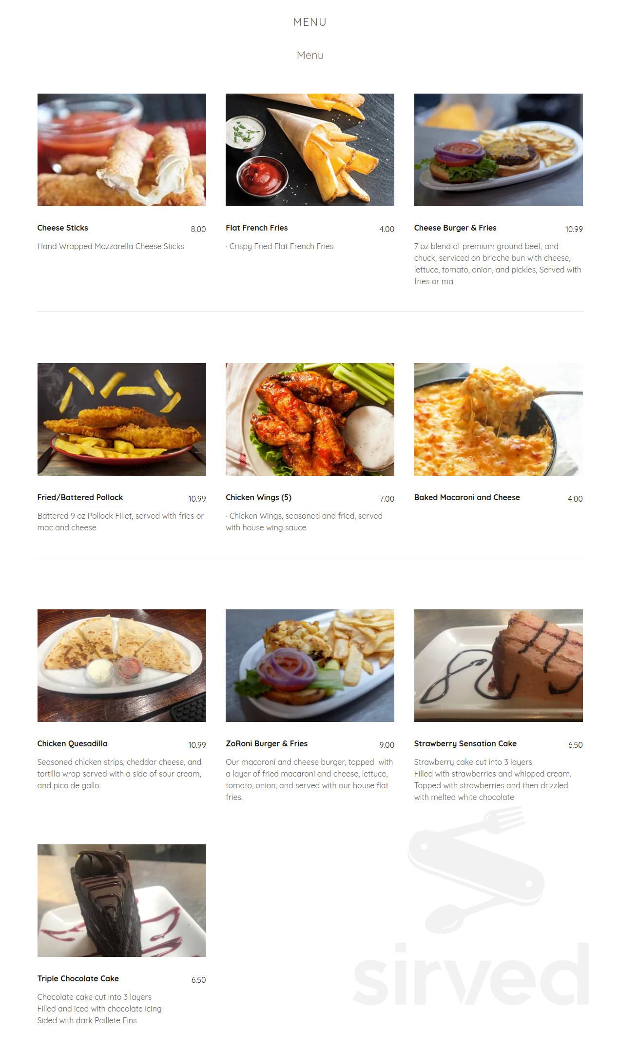 devino s sports bar grill menu in cincinnati ohio usa devino s sports bar grill menu in