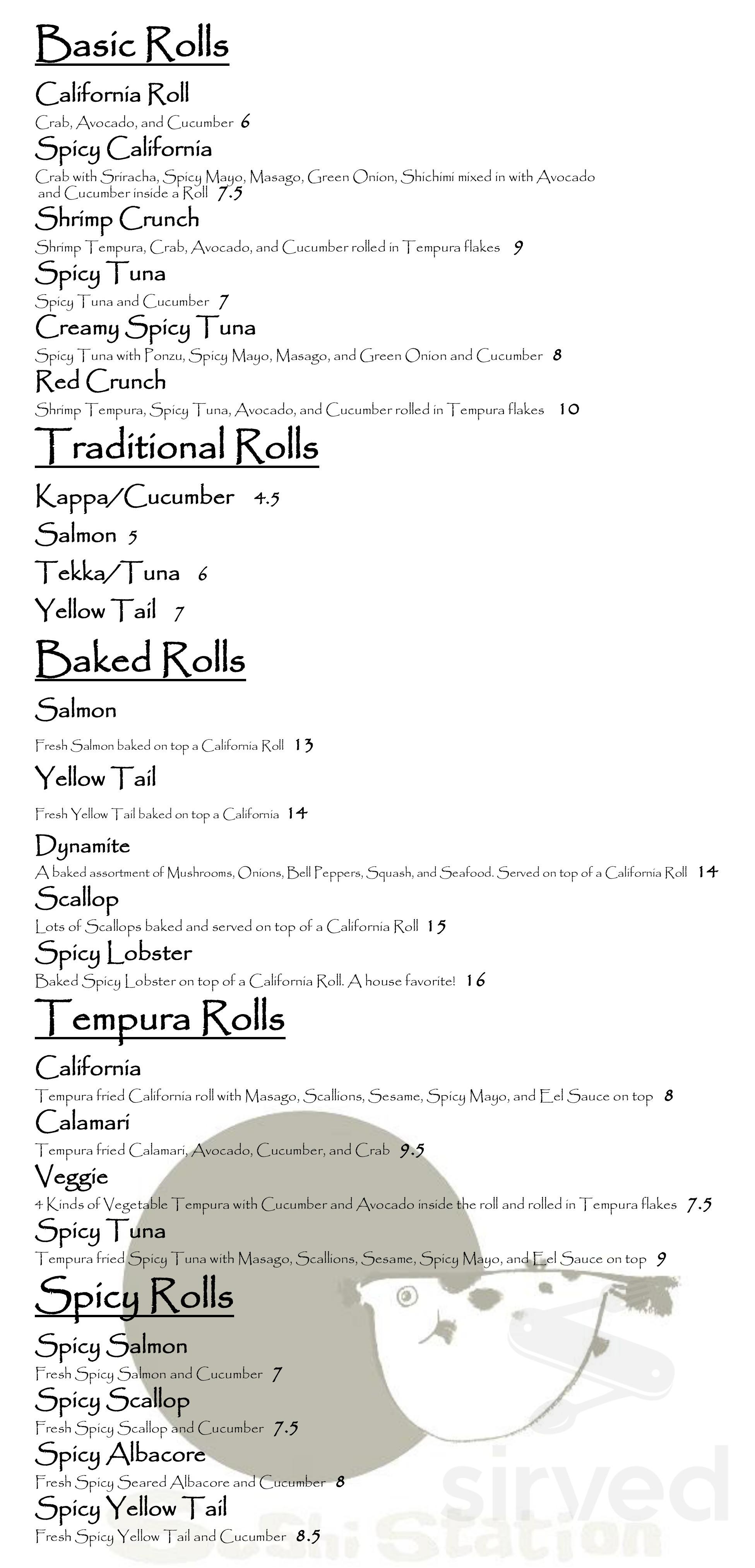 Sushi Station Menu In Riverside California Usa 1,002 likes · 126 talking about this. sushi station menu in riverside